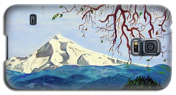 Mt Hood In Winter Galaxy S5 Case