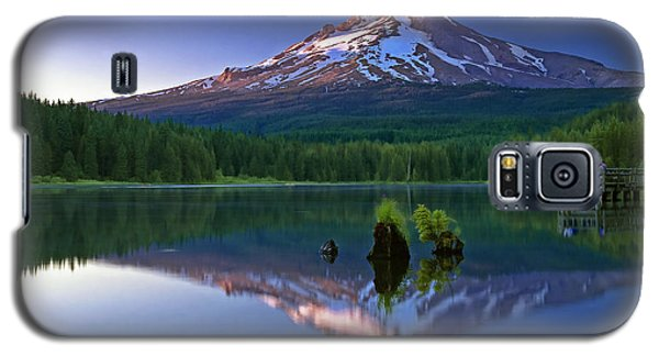Mt. Hood Reflection At Sunset Galaxy S5 Case