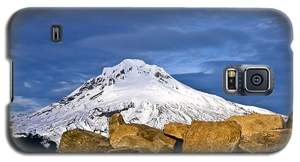 Mt Hood With Talus Galaxy S5 Case