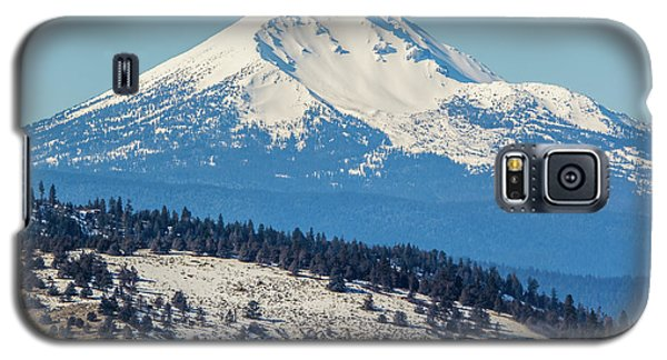 Galaxy S5 Case featuring the photograph Mt. Mcloughlin by Marc Crumpler