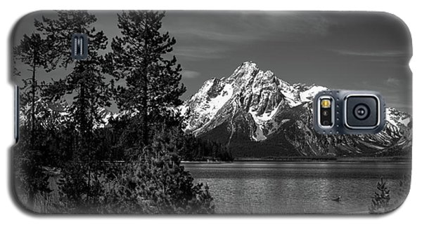 Mt. Moran And Trees Galaxy S5 Case