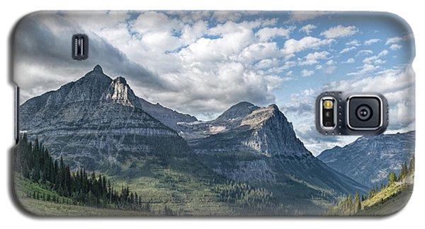 Mt. Oberlin From Logan Pass Galaxy S5 Case