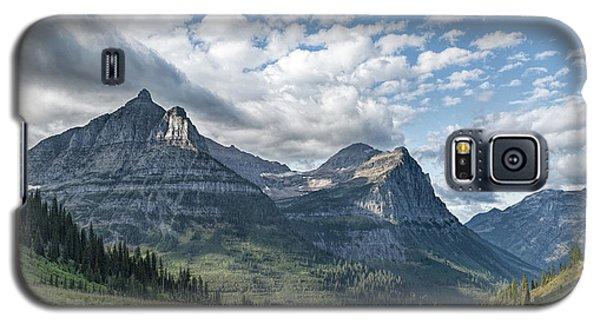 Mt. Oberlin From Logan Pass Galaxy S5 Case