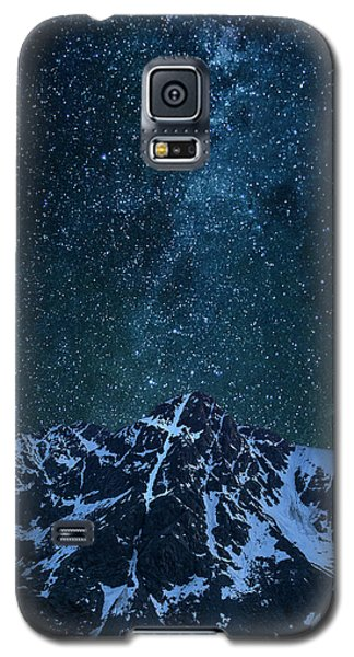 Galaxy S5 Case featuring the photograph Mt. Of The Holy Cross Milky Way by Aaron Spong