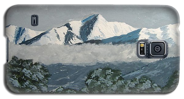 Galaxy S5 Case featuring the painting Mt Princeton Co by Norm Starks