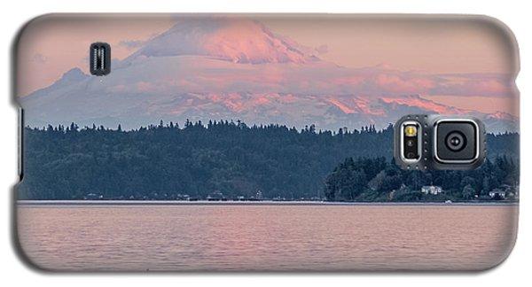 Mt. Rainier At Sunset Galaxy S5 Case