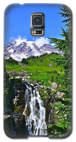 Mt. Rainier From Myrtle Falls Galaxy S5 Case
