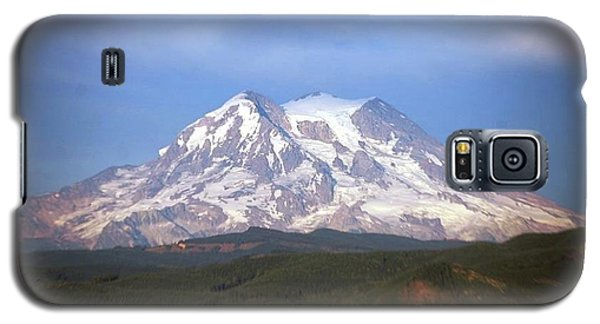 Galaxy S5 Case featuring the photograph Mt. Rainier by Sumoflam Photography