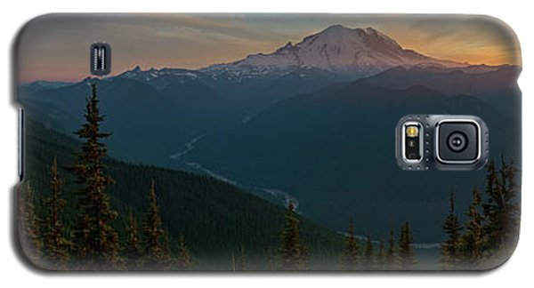 Mt Rainier Sunset Glow Galaxy S5 Case