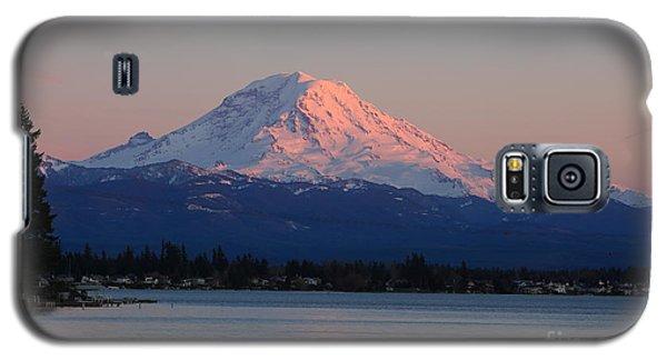 Mt Rainier Sunset Galaxy S5 Case