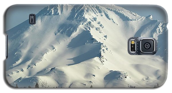 Galaxy S5 Case featuring the photograph Mt Shasta In Early Morning Light by Marc Crumpler
