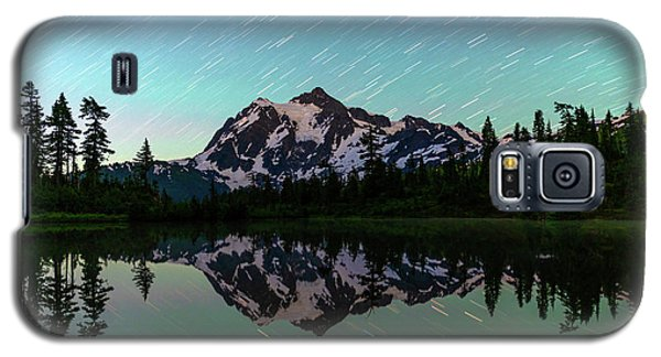 Mt Shuksan And Star Trails Galaxy S5 Case