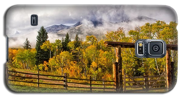 Mt Sopris Under The Clouds Galaxy S5 Case by Ronda Kimbrow