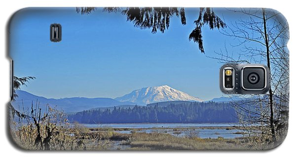 Galaxy S5 Case featuring the photograph Mt St Helens by Jack Moskovita
