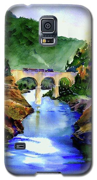 Mtn Quarries Rr Bridge Galaxy S5 Case