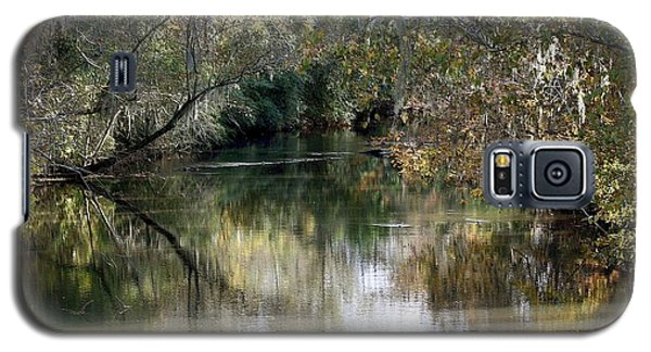 Galaxy S5 Case featuring the photograph Muckalee Creek by Jerry Battle