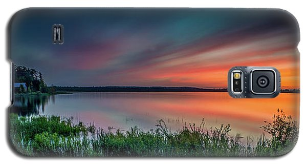 Mud Bay Sunset 4 Galaxy S5 Case