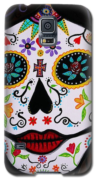 Muertos Galaxy S5 Case by Pristine Cartera Turkus