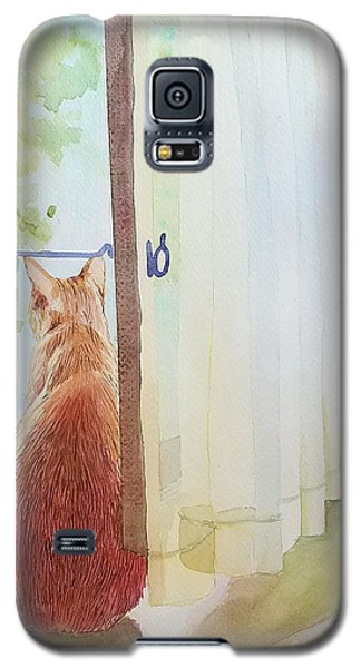 Muffin At Window Galaxy S5 Case