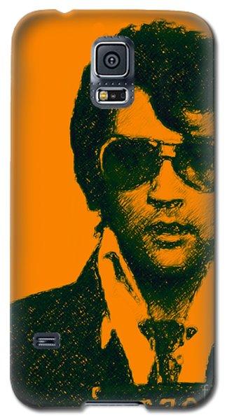 Mugshot Elvis Presley Galaxy S5 Case