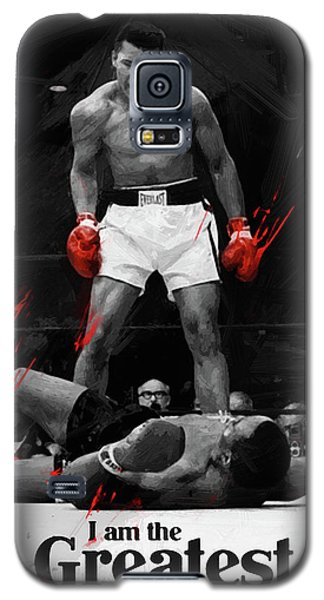 Boxing Muhammad Ali Galaxy S5 Case - Muhammad Ali by Afterdarkness
