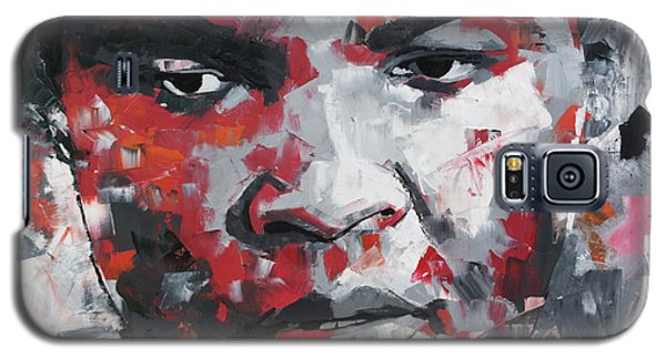 Galaxy S5 Case featuring the painting Muhammad Ali II by Richard Day