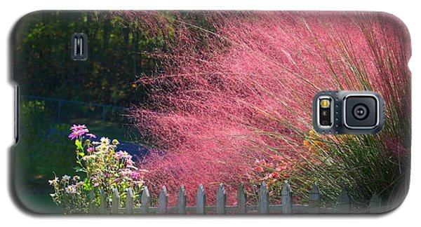Galaxy S5 Case featuring the photograph Muhly Grass by Kathryn Meyer