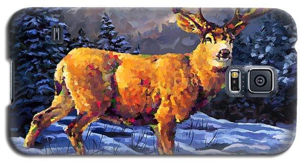 Mule Deer 2 Galaxy S5 Case by Tim Gilliland