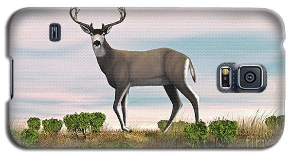 Mule Deer Buck Galaxy S5 Case by Walter Colvin