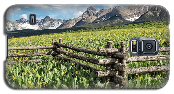 Mule's Ears And Mountains Galaxy S5 Case