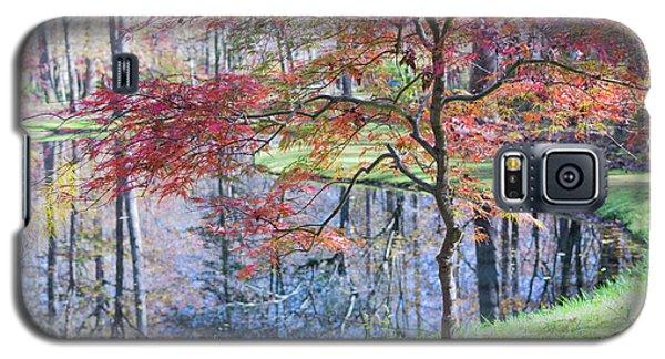 Multi Color Japanese Maple Galaxy S5 Case