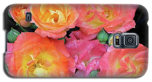 Multi-color Roses Galaxy S5 Case