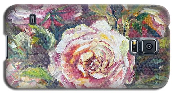 Multi-hue And Petal Rose. Galaxy S5 Case