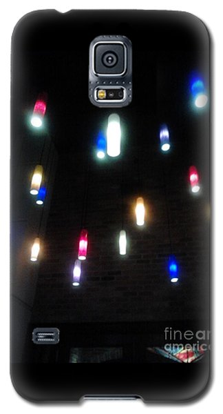Multi Colored Lights Galaxy S5 Case