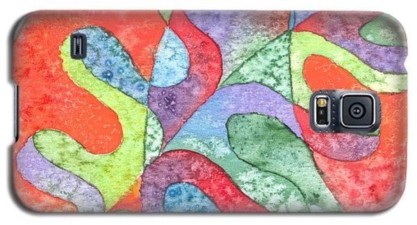 Multicolor Oak Leaf Galaxy S5 Case by Kristen Fox