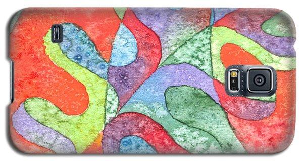 Multicolor Oak Leaf Galaxy S5 Case