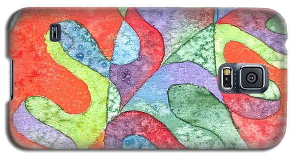 Multicolor Oak Leaf Galaxy S5 Case