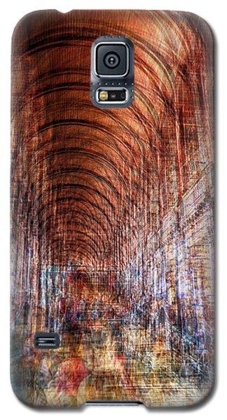 multiple exposure of Dublin public library  Galaxy S5 Case