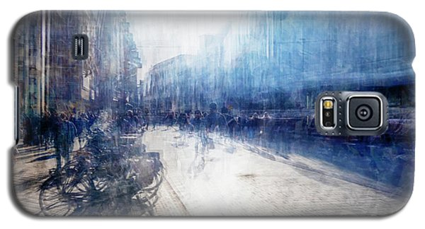 Multiple Exposure Of Shopping Street Galaxy S5 Case