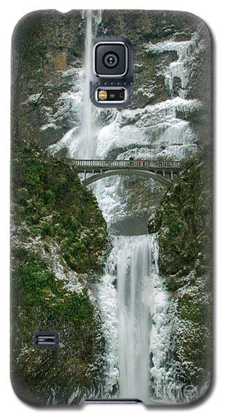 Multnomah Falls Ice Galaxy S5 Case