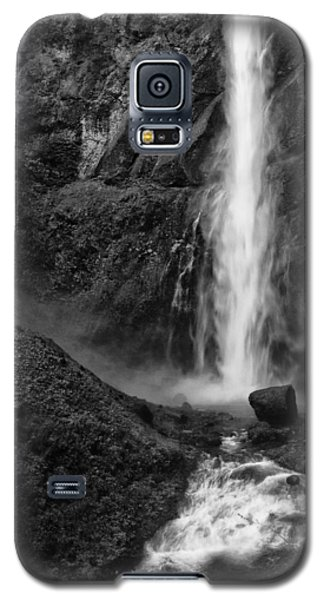 Multnomah Falls In Black And White Galaxy S5 Case