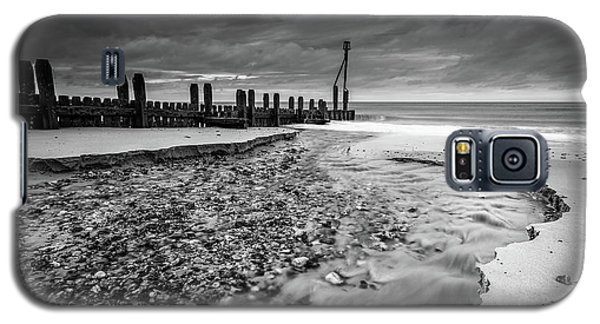Mundesley Beach - Mono Galaxy S5 Case