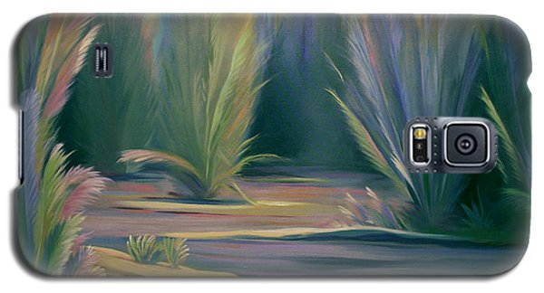 Mural Field Of Feathers Galaxy S5 Case