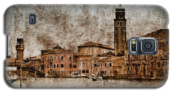 Galaxy S5 Case featuring the photograph Murano, Italy - Canale Degli Angeli by Mark Forte