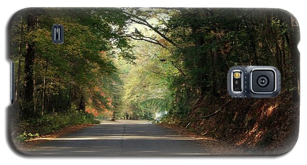 Galaxy S5 Case featuring the photograph Murphy Mill Road by Jerry Battle