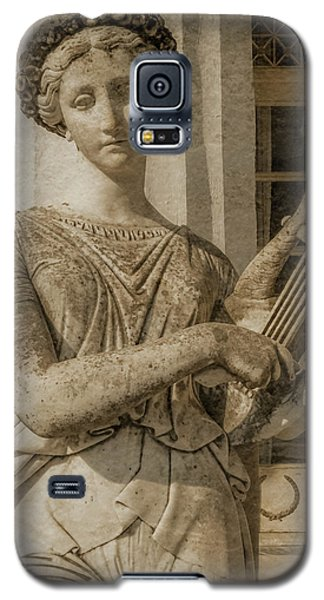 Galaxy S5 Case featuring the photograph Achilleion, Corfu, Greece - The Muse Terpsichore by Mark Forte