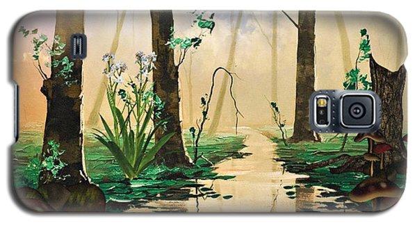 Mushroom Forest Galaxy S5 Case