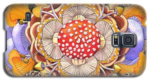 Mushroom Mandala Galaxy S5 Case
