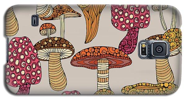 Mushroom Pattern Galaxy S5 Case