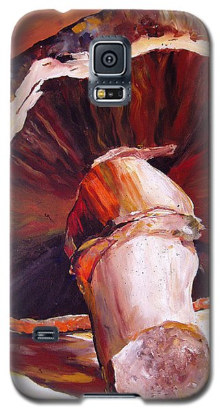 Mushroom Still Life Galaxy S5 Case by Toni Grote